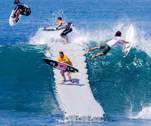Surfing The Dock Booooooom Tv A Daily Selection Of