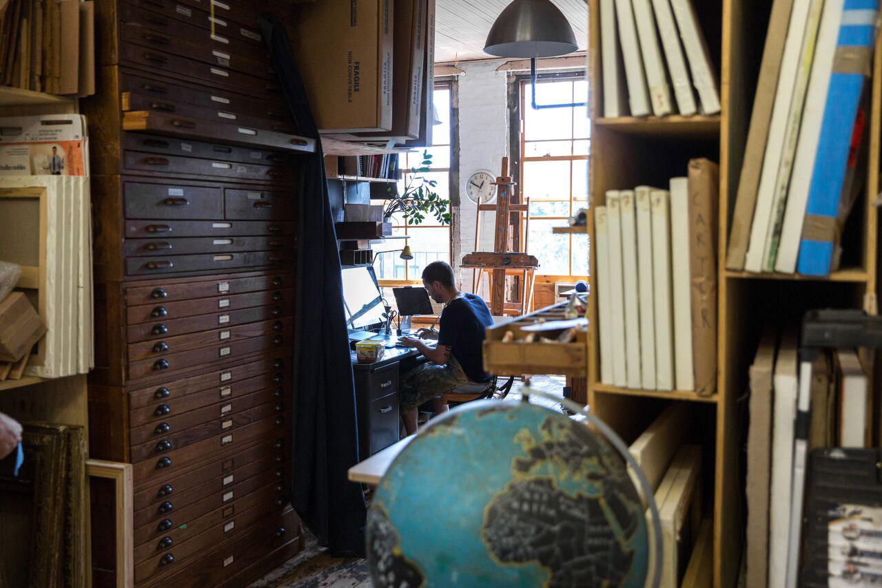 Oliver Jeffers by Bas Berkhout